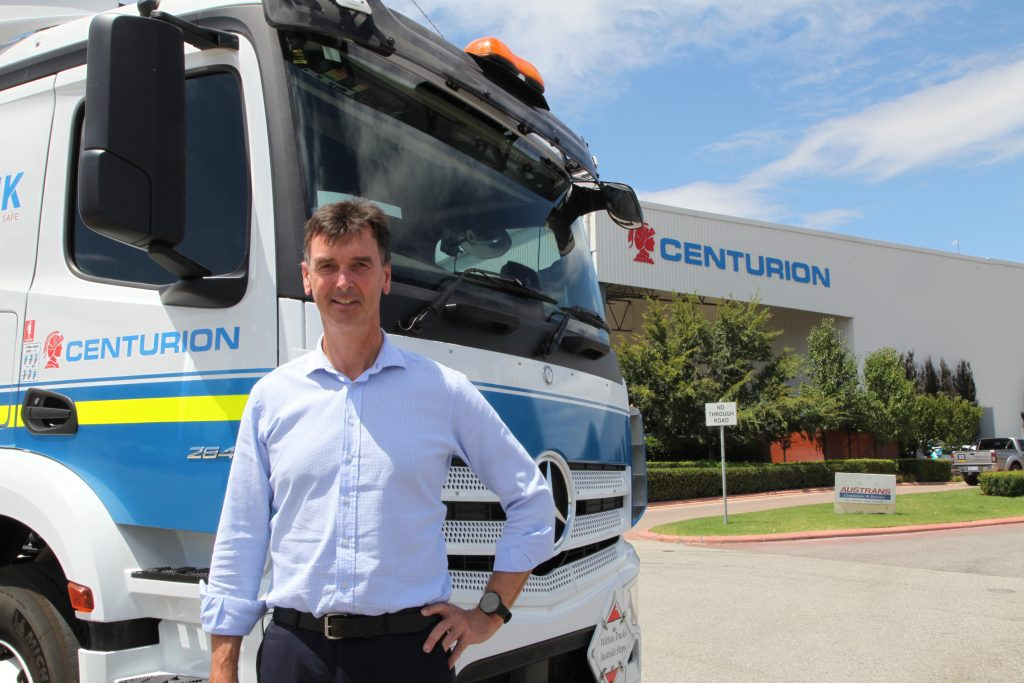 Leading transport and logistics provider Centurion has appointed Tom Hannaford as its General Manager of Operations East.