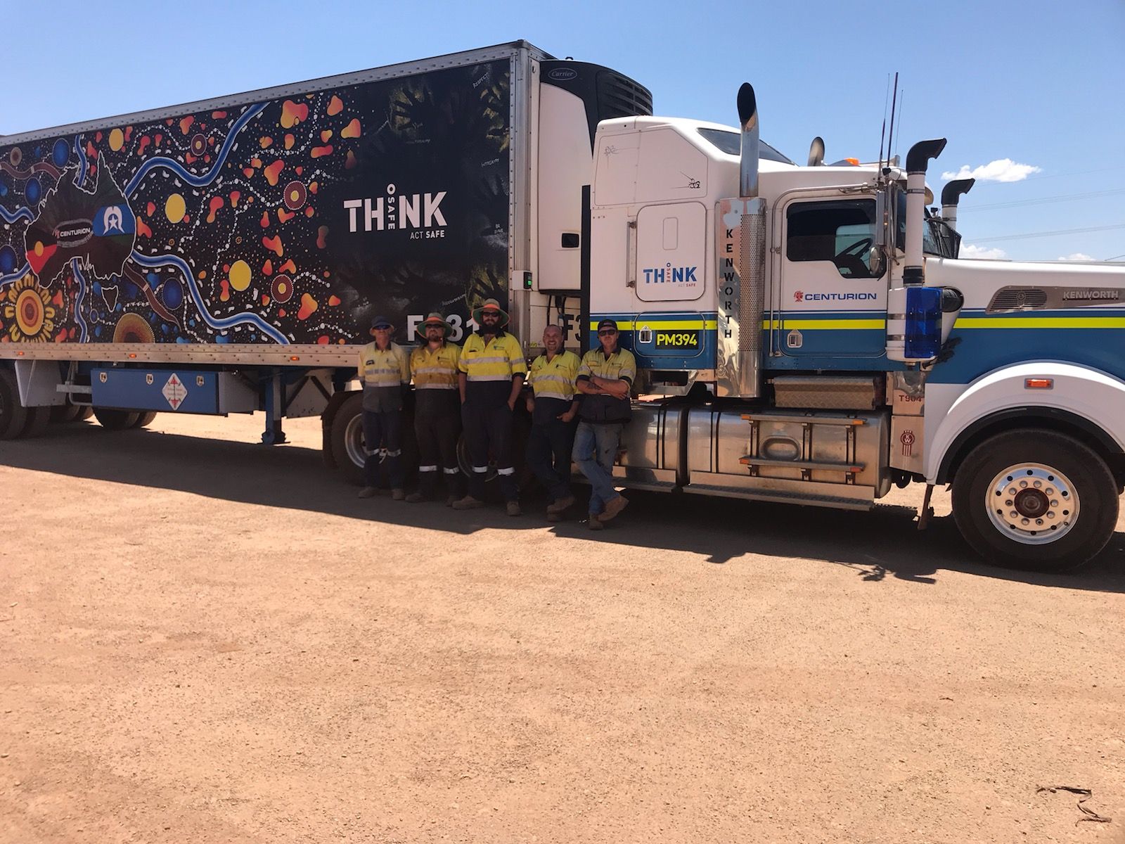 Centurion Transport Staff at the Bloody Slow Cup in Newman 2019